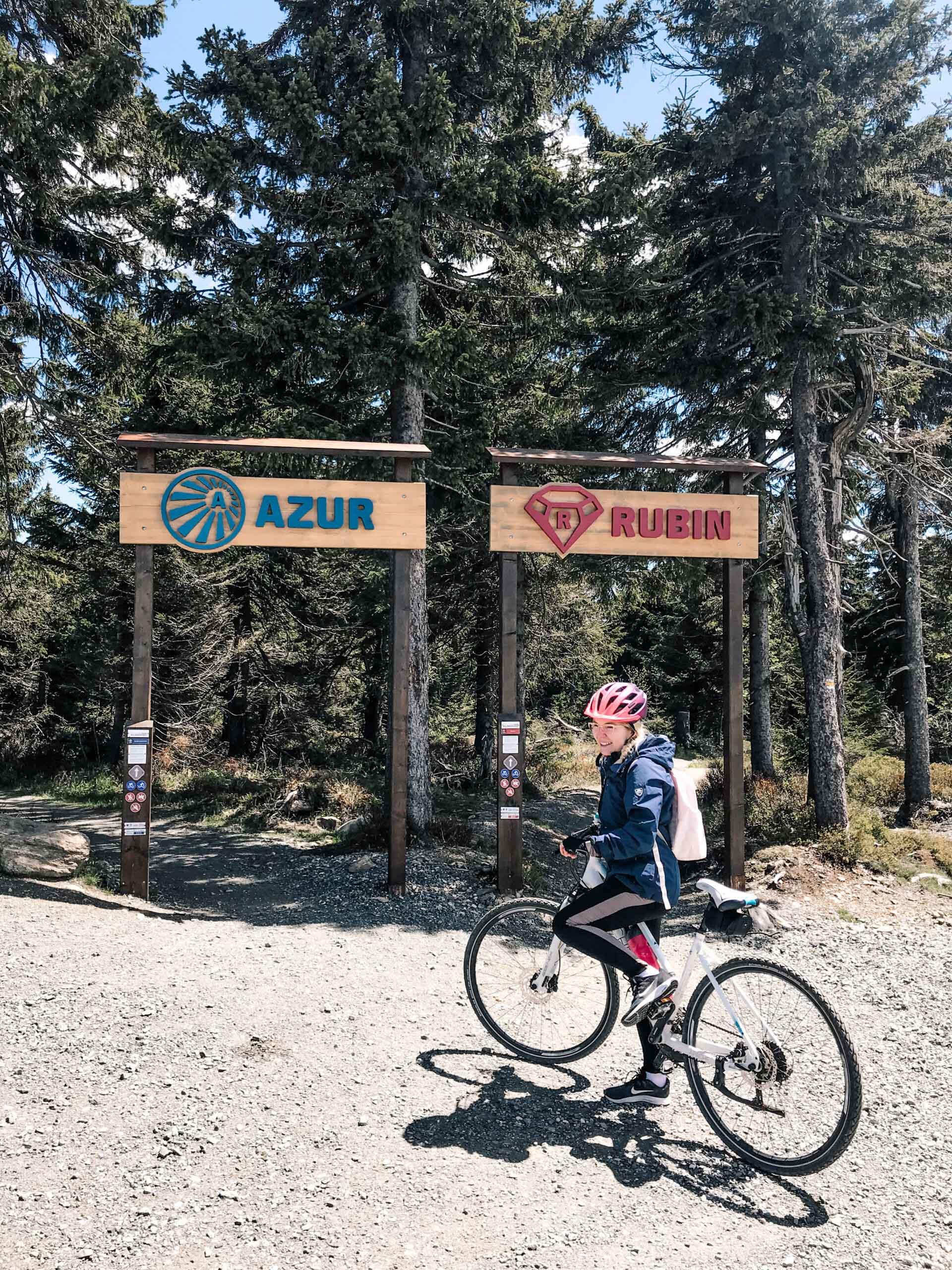 Trail park - Krušné hory - Jiráci na cestách