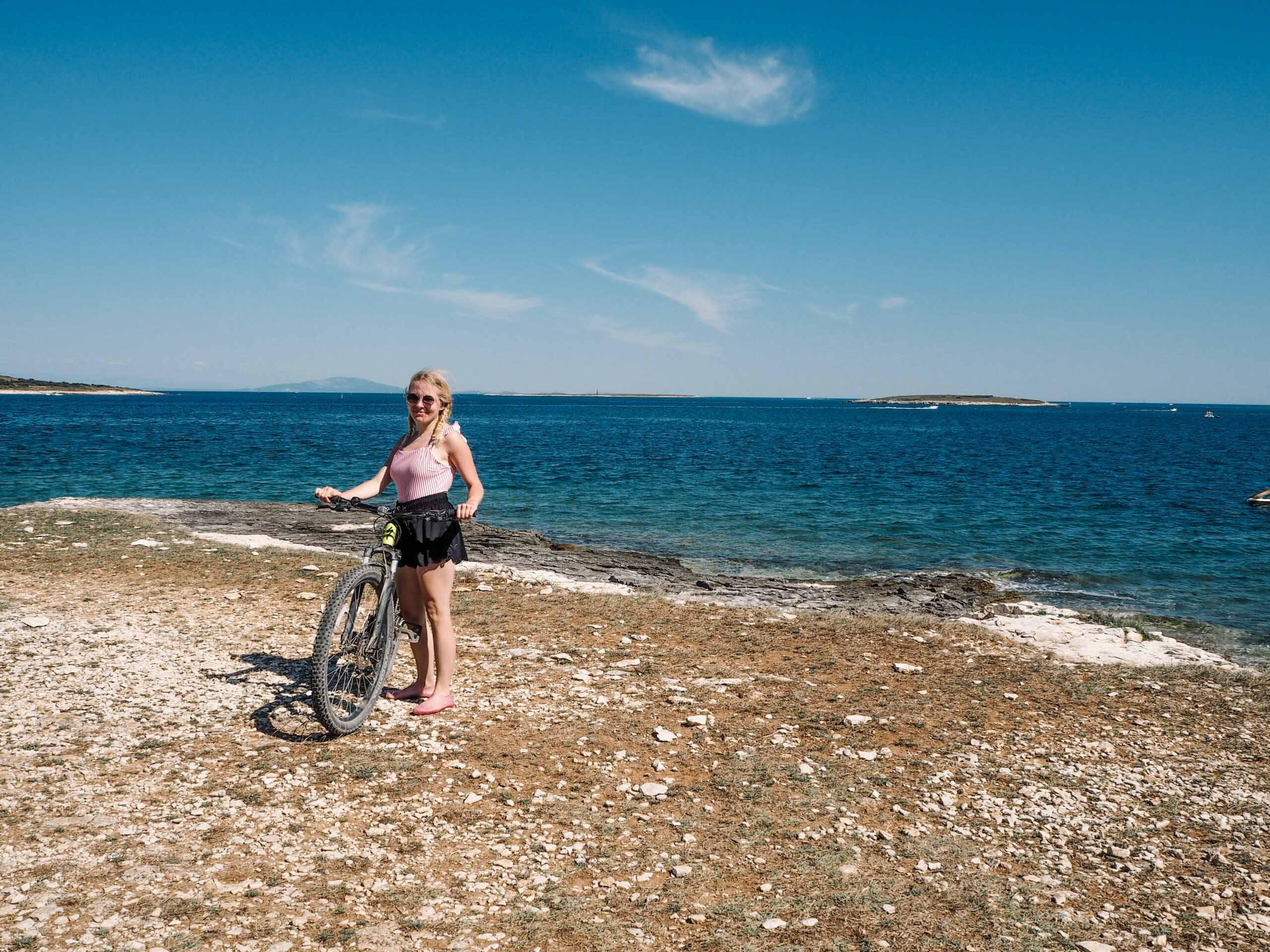 Chorvatsko - Národní park Kamenjak na kole - Jiráci na cestách