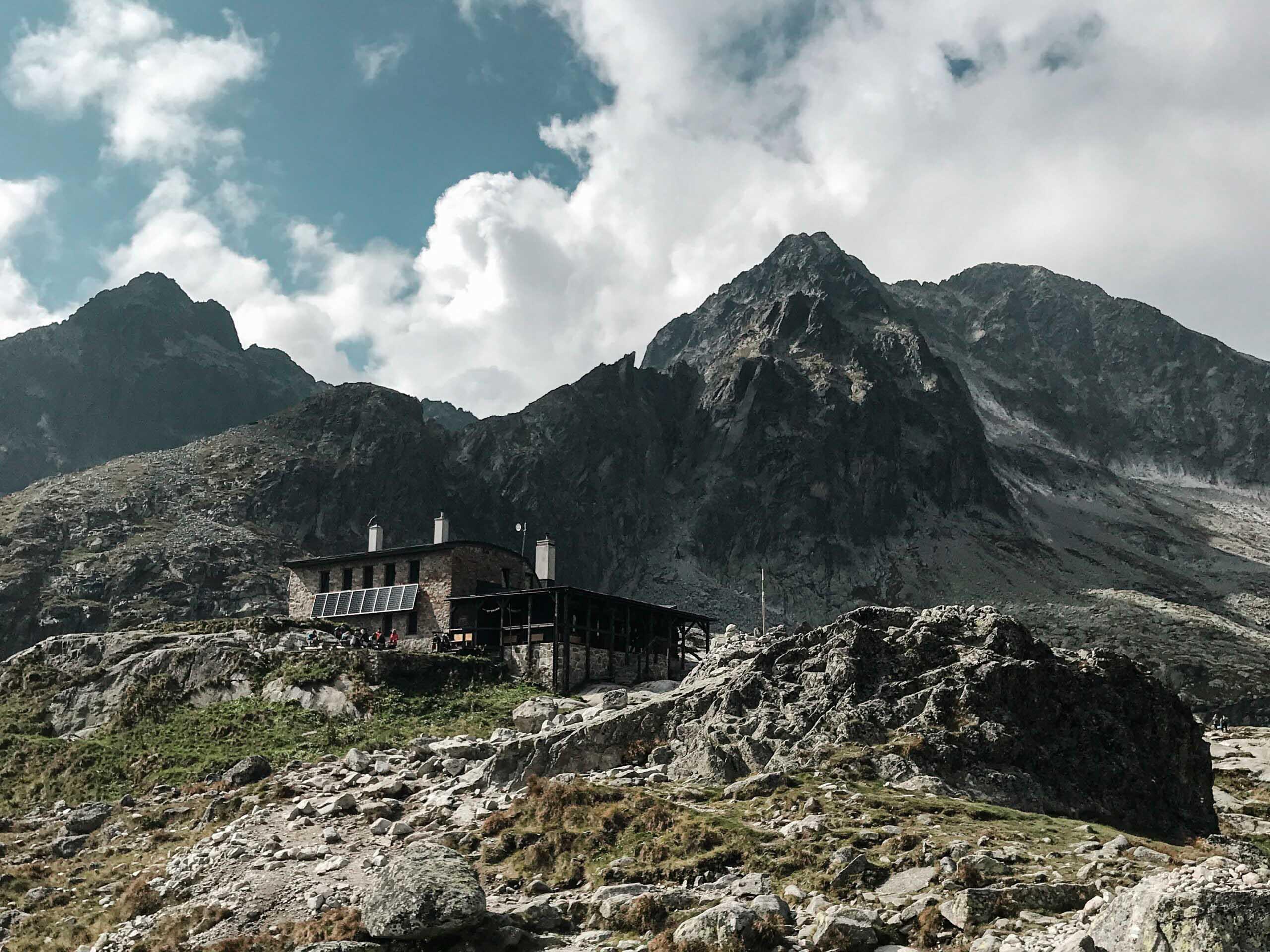 Vysoké Tatry, Téryho chata - Jiráci na cestách