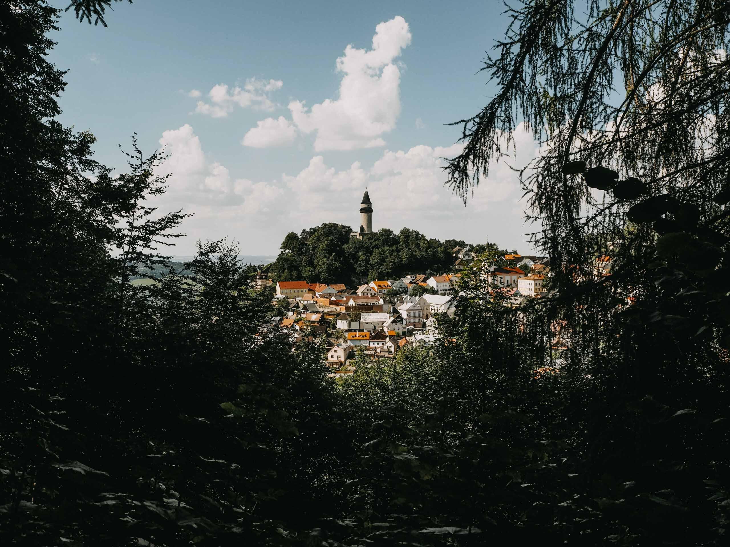 Město Štramberk - věž Trúba - Jiráci na cestách