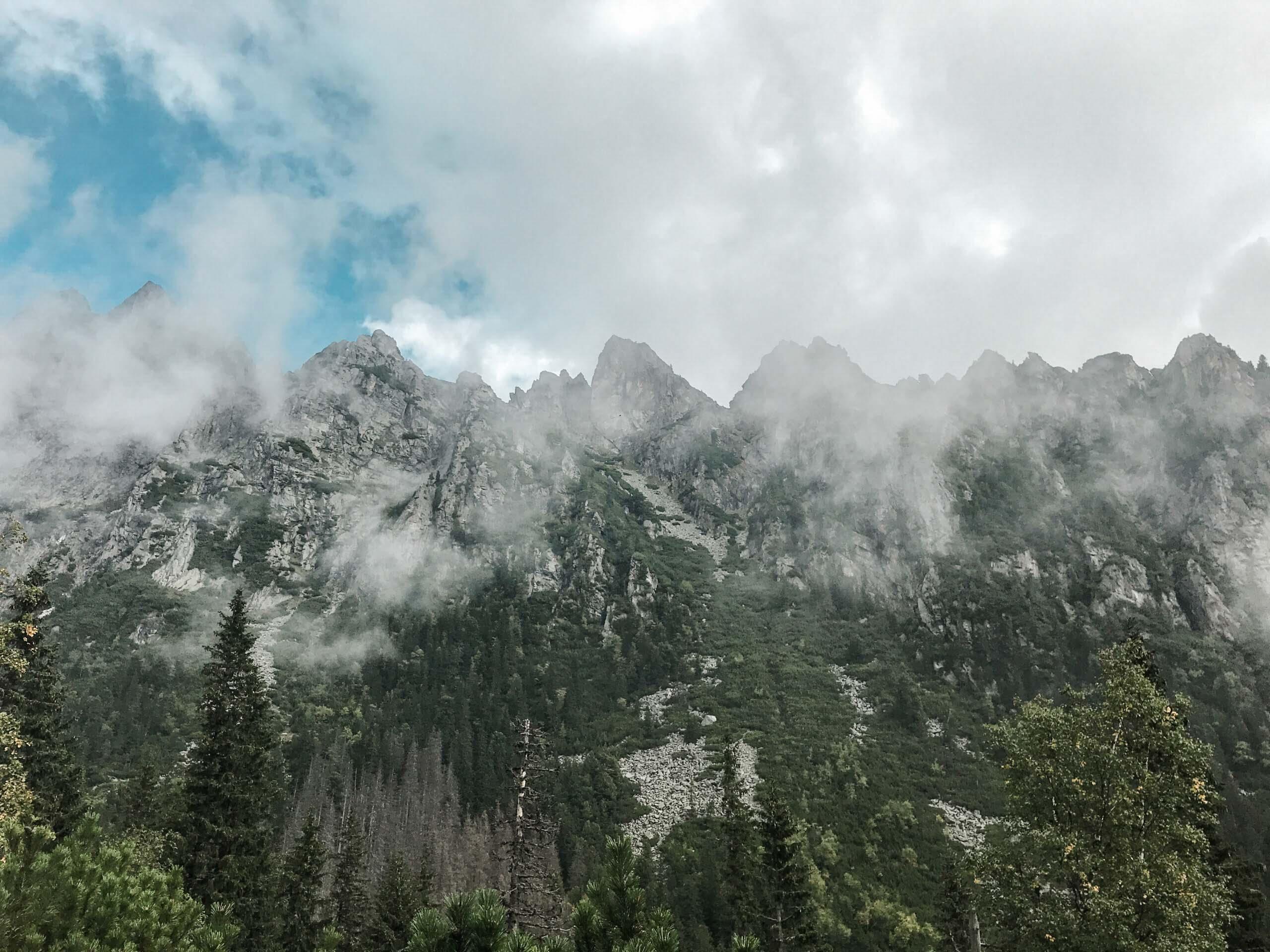 Horská túra přes Sedlo Prielom - Vysoké Tatry - Jiráci na cestách