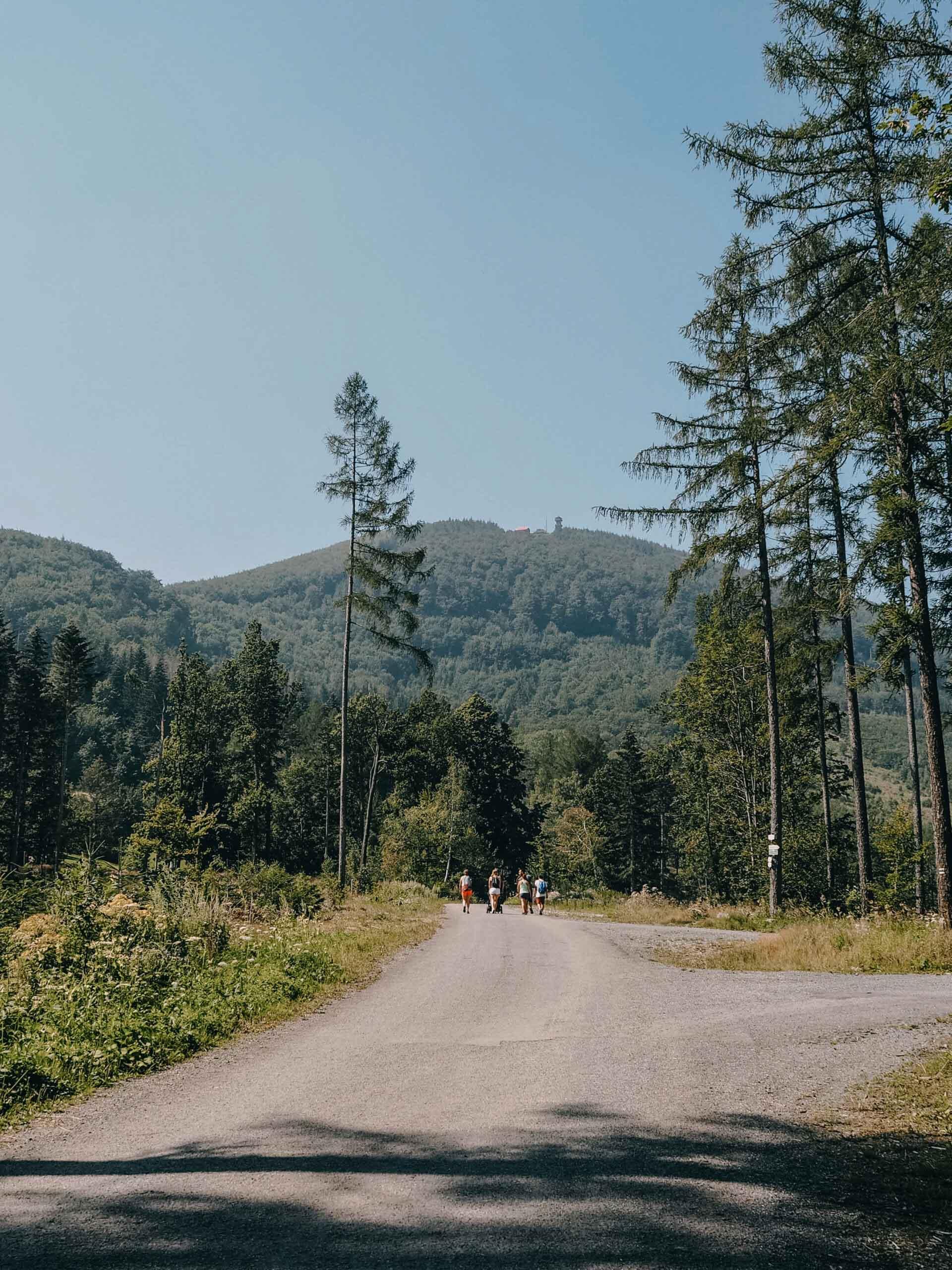Velký Javorník - Jiráci na cestách