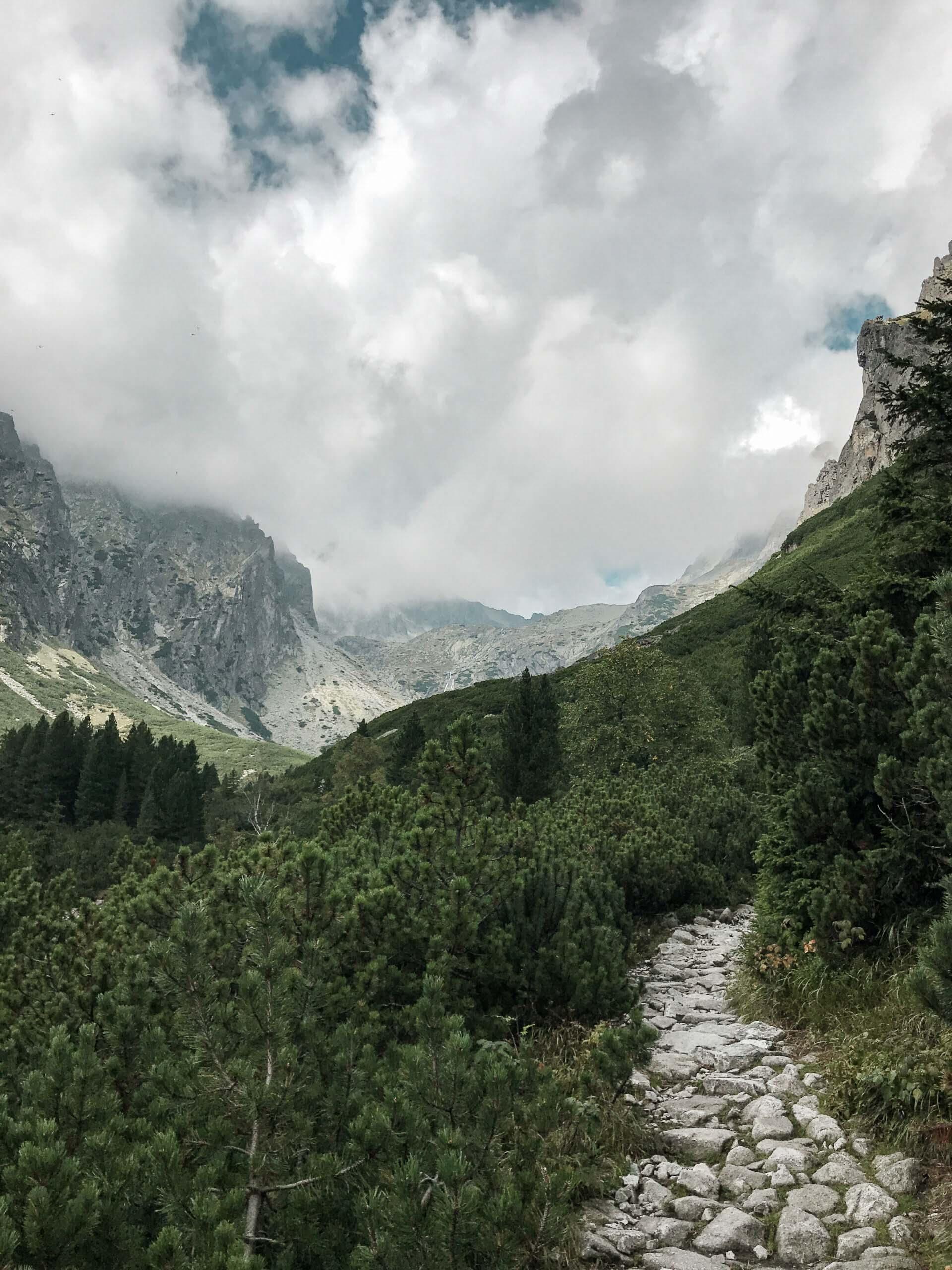 Sedlo Prielom - Vysoké Tatry - Jiráci na cestách