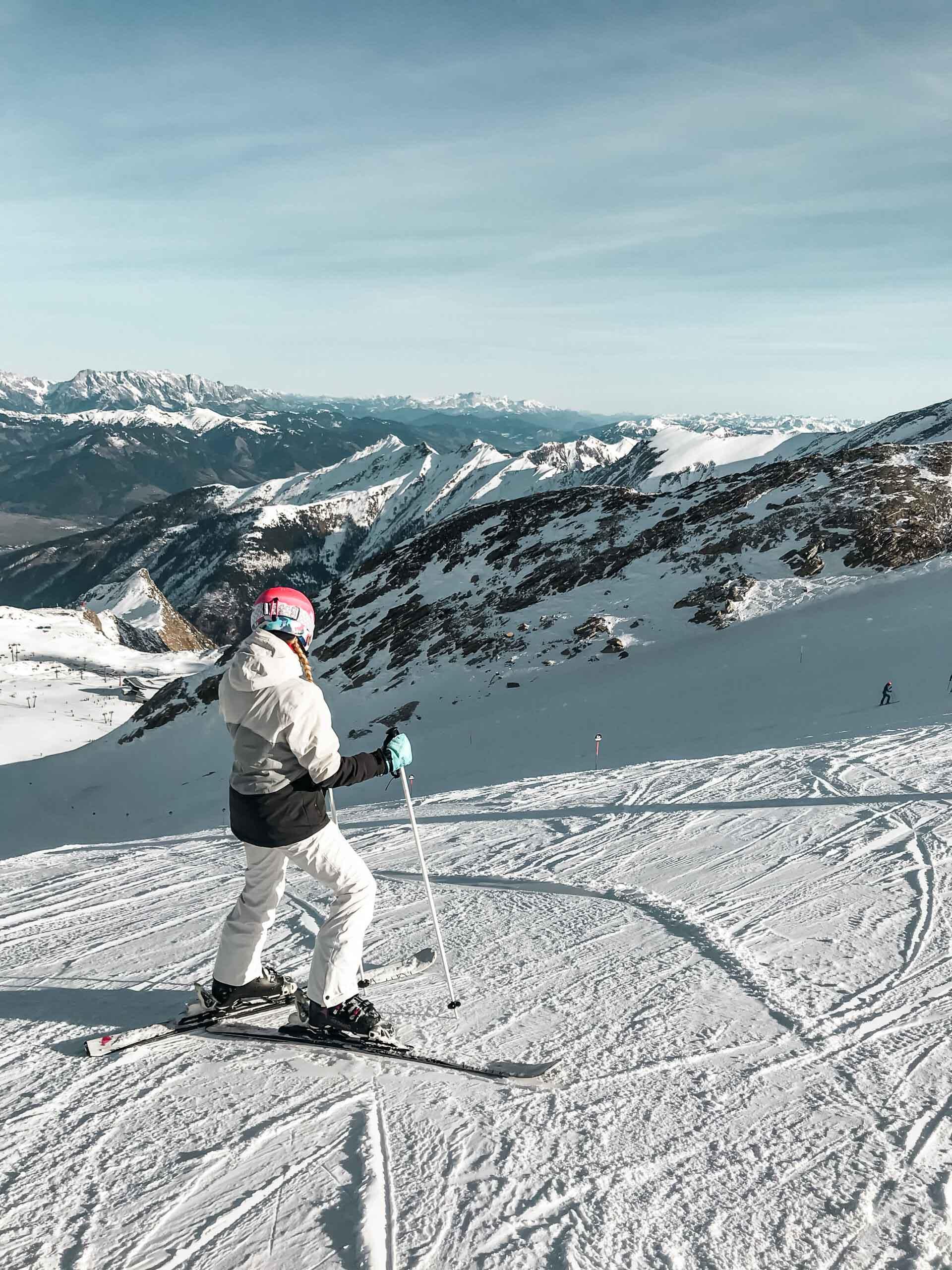 rakousko lyže Kitzsteinhorn