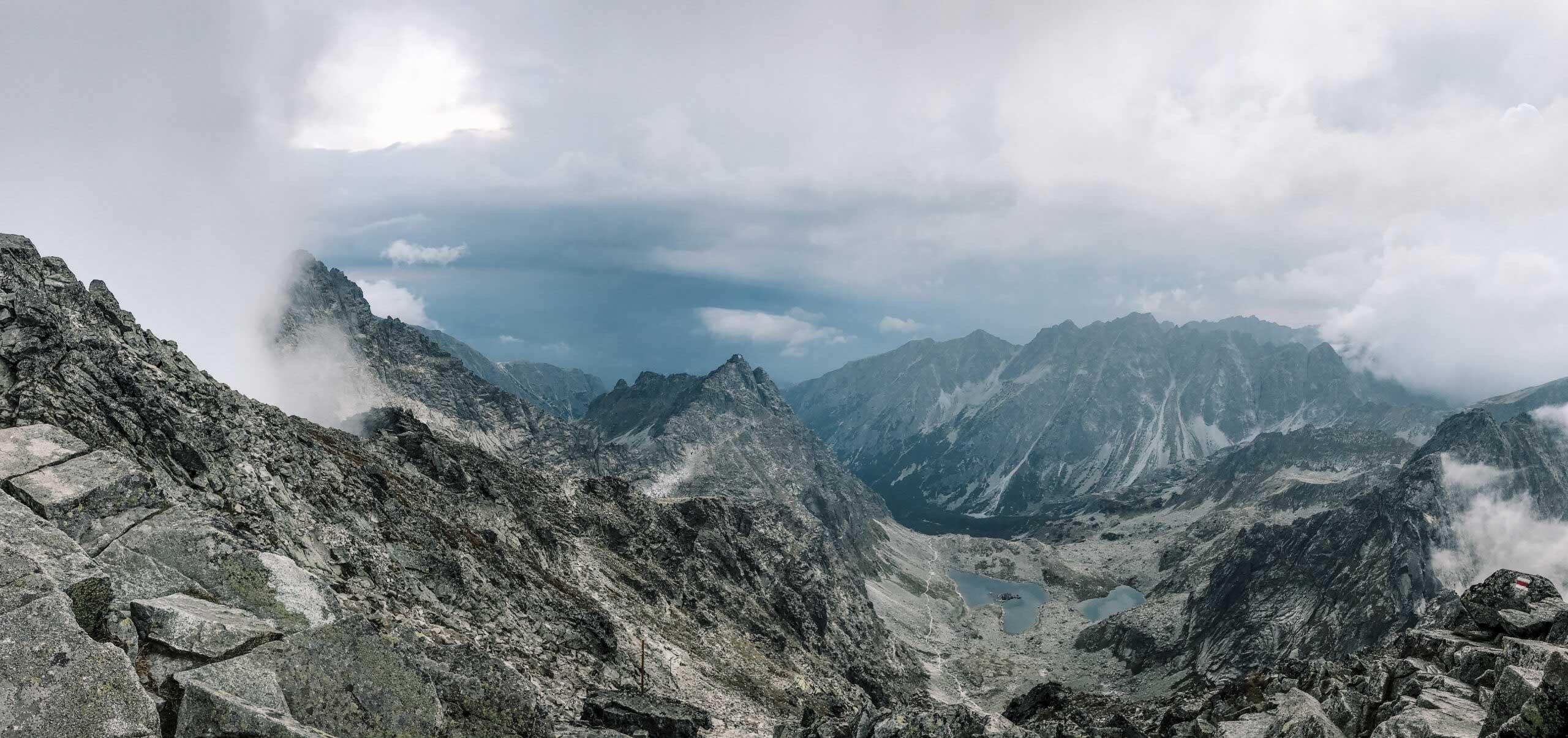 VYsoké Tatry, výstup na Rysy - Jiráci na cestách