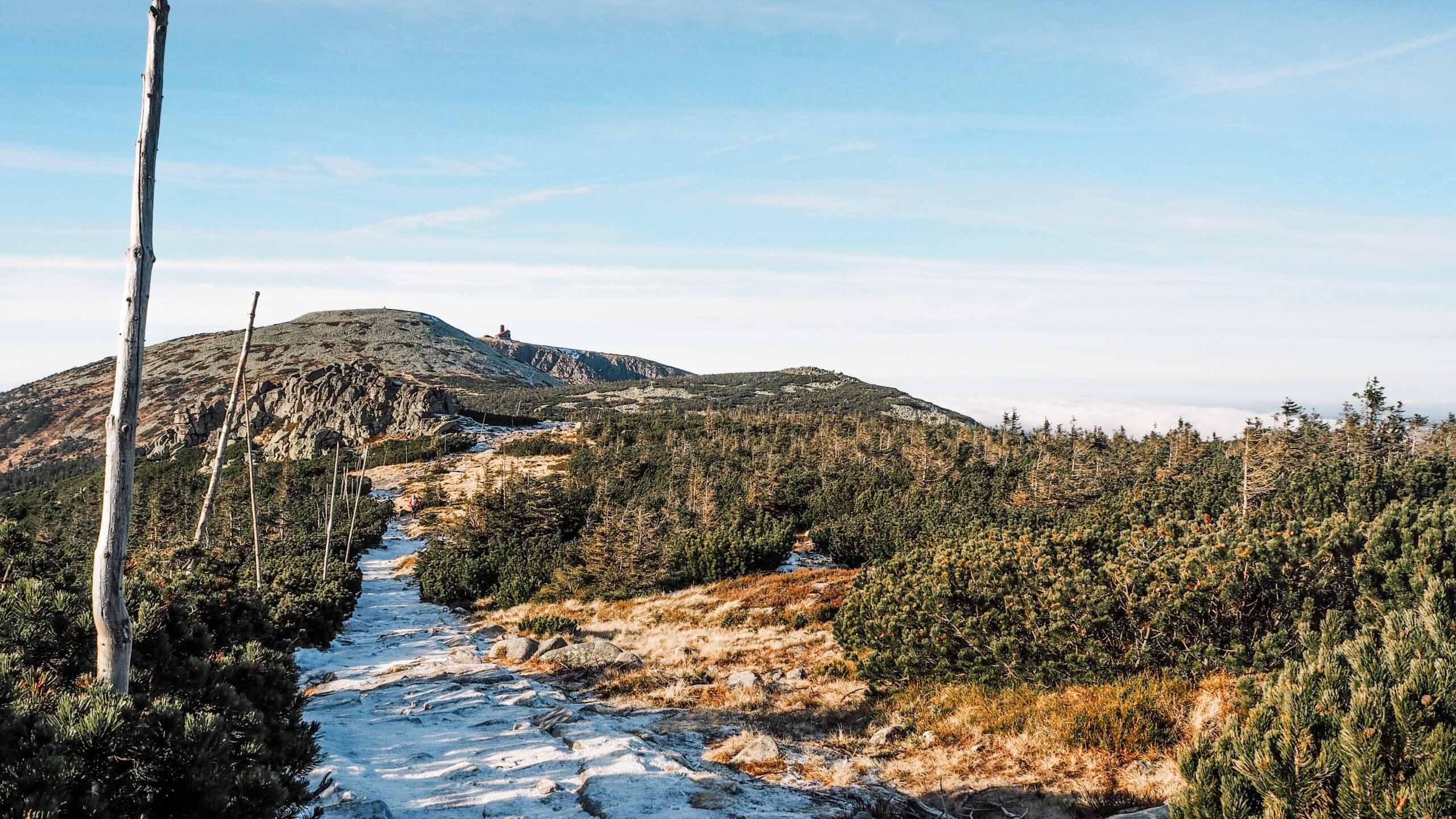 Sněžné jámy - Krkonoše - Jiráci na cestách