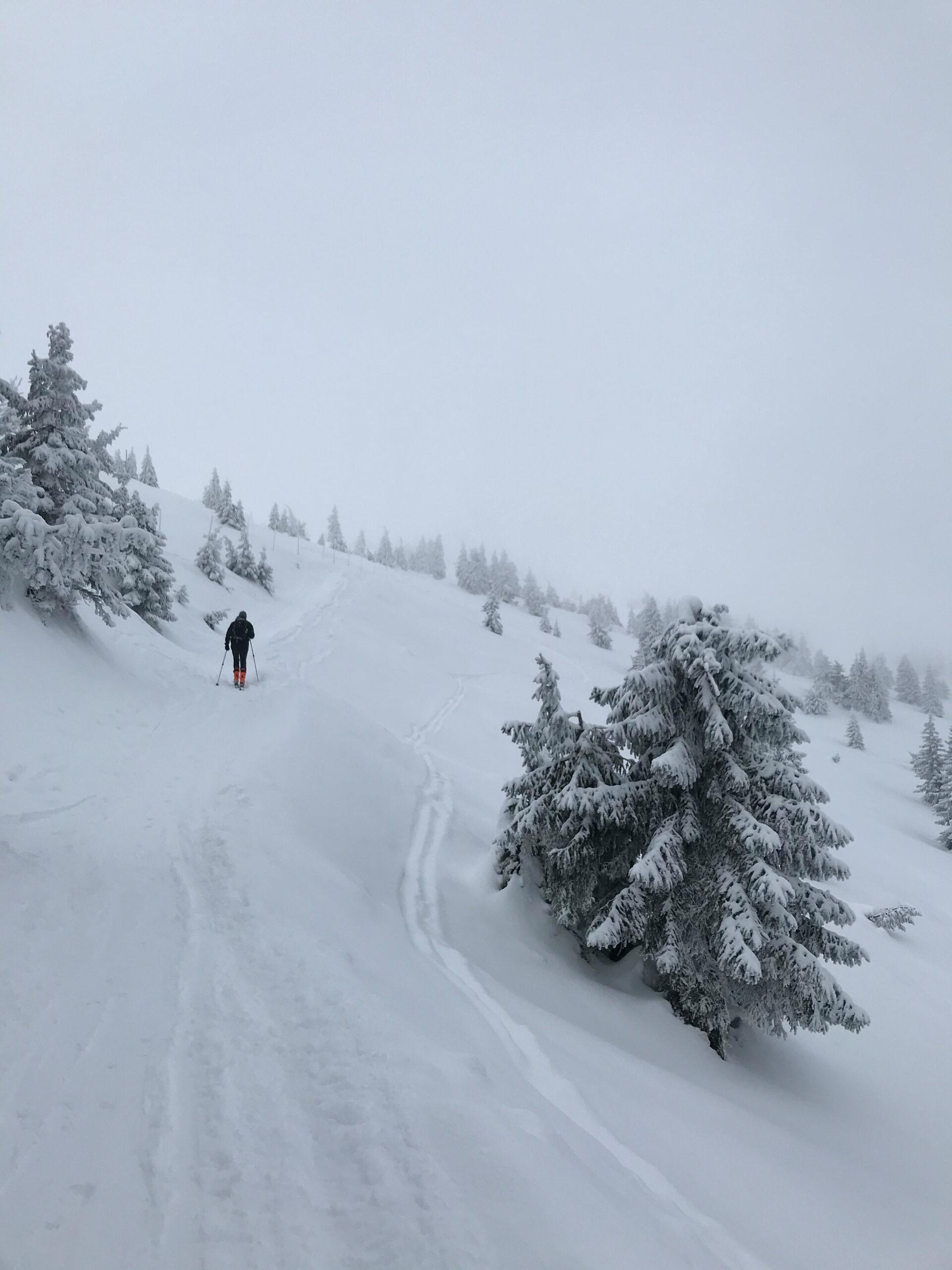 Krkonoše - skialp Rokytnice nad Jizerou - Jiráci na cestách