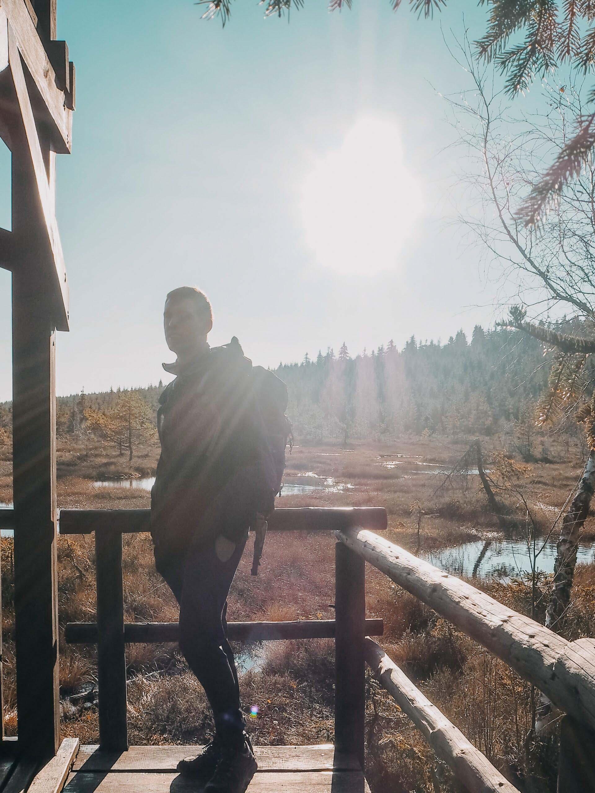 Jizerské hory, rašeliniště Na Čihadle - Jizerské hory - Jiráci na cestách
