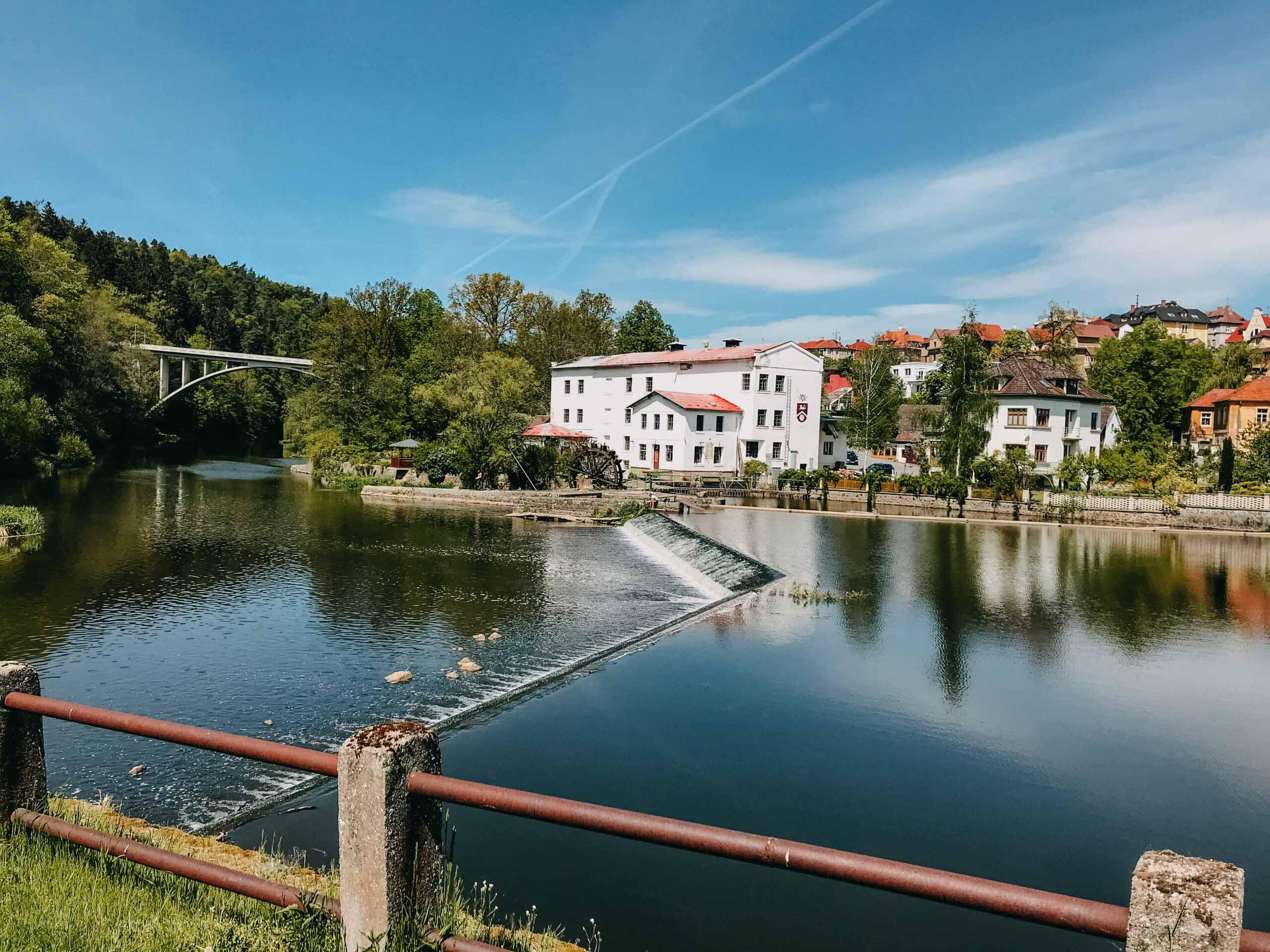 Jižní Čechy, stezka údolím Lužnice - Jiráci na cestách