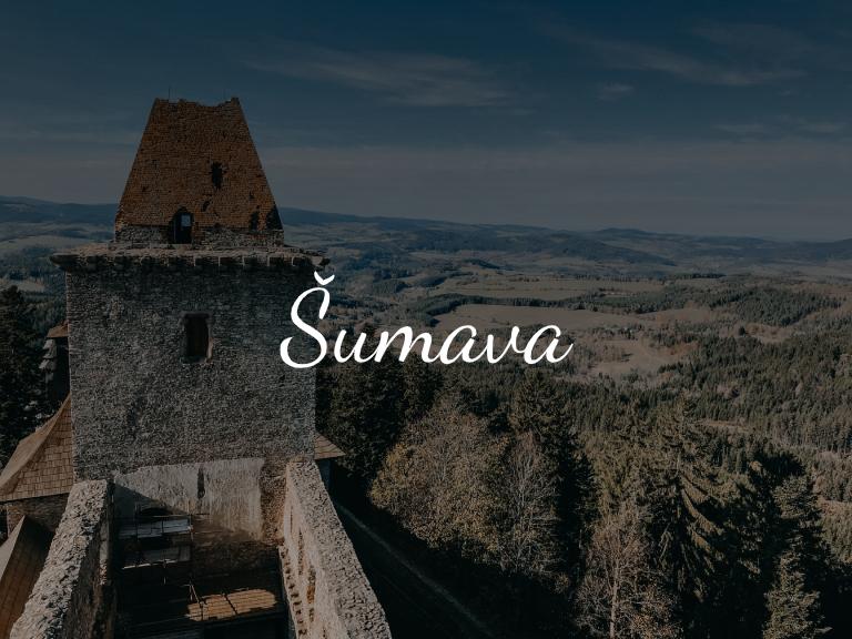 Výlety - Šumava - Jiráci na cestách