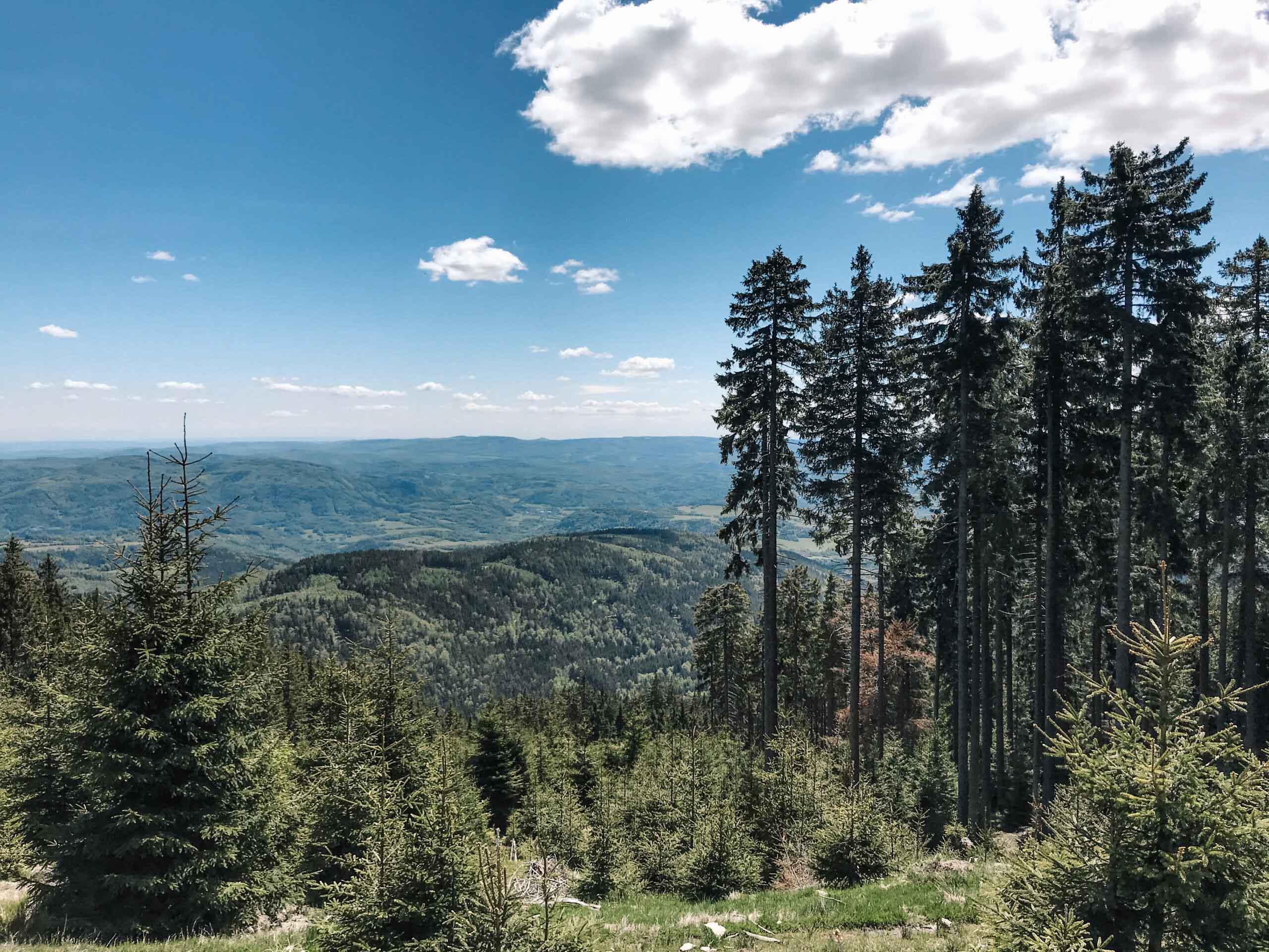 Klínovec - Krušné hory - Jiráci na cestách