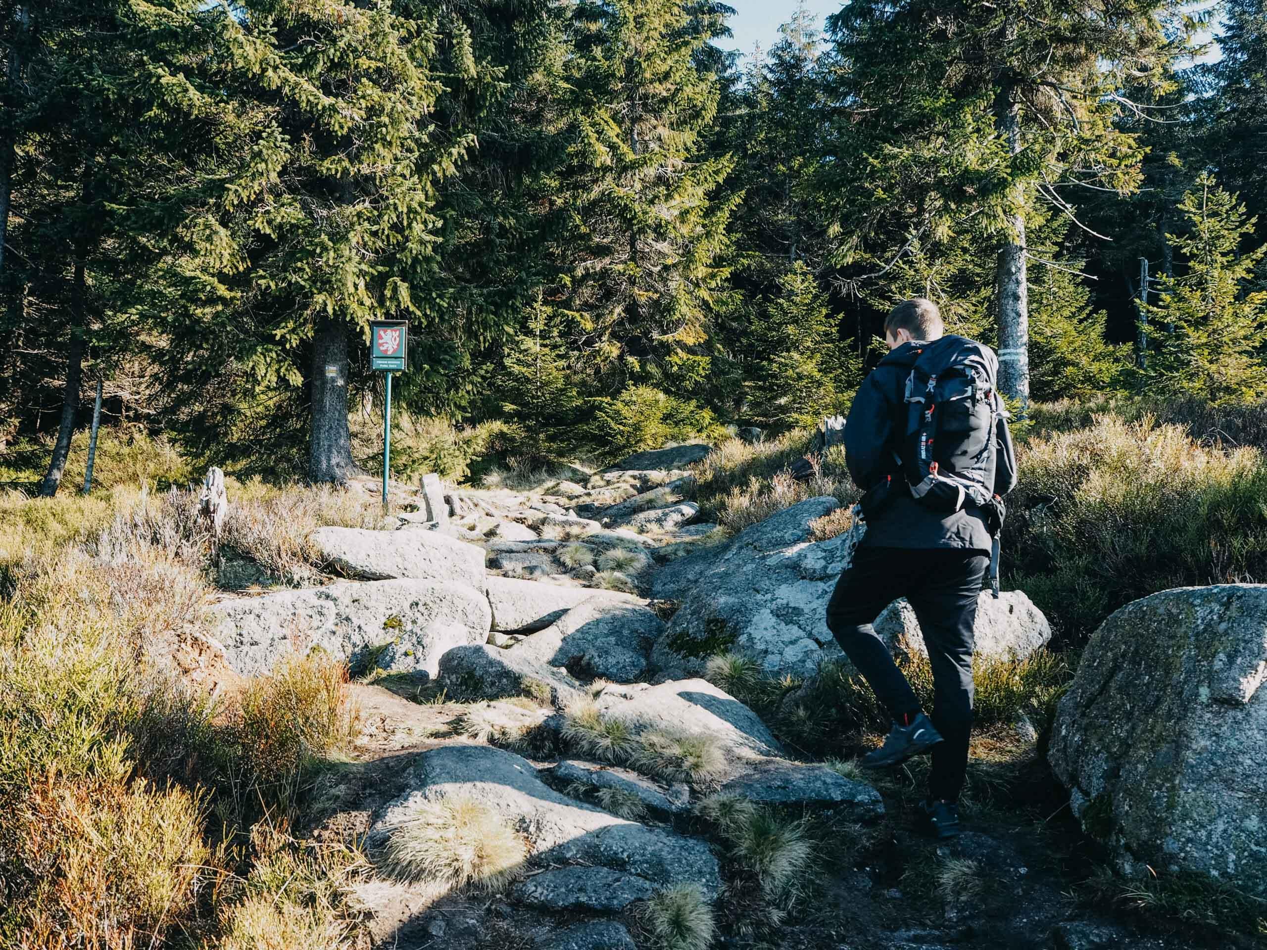 Jizera a rašeliniště Na Čihadle - Jizerské hory - Jiráci na cestách