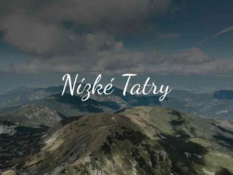 Nízké Tatry - cover foto